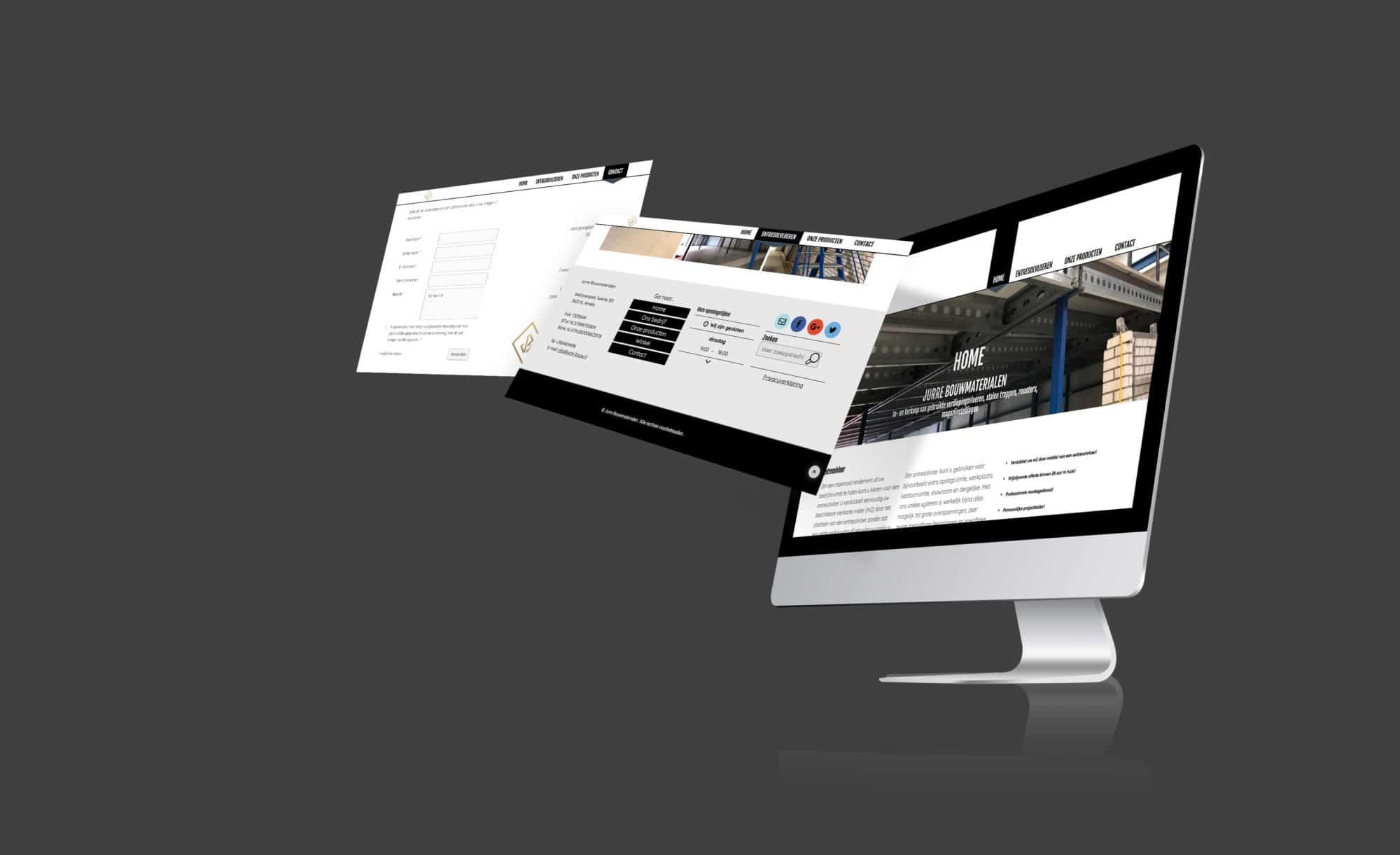 Jurre Bouw Website
