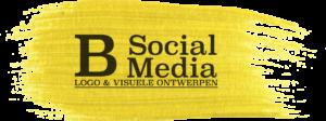 b social media logo