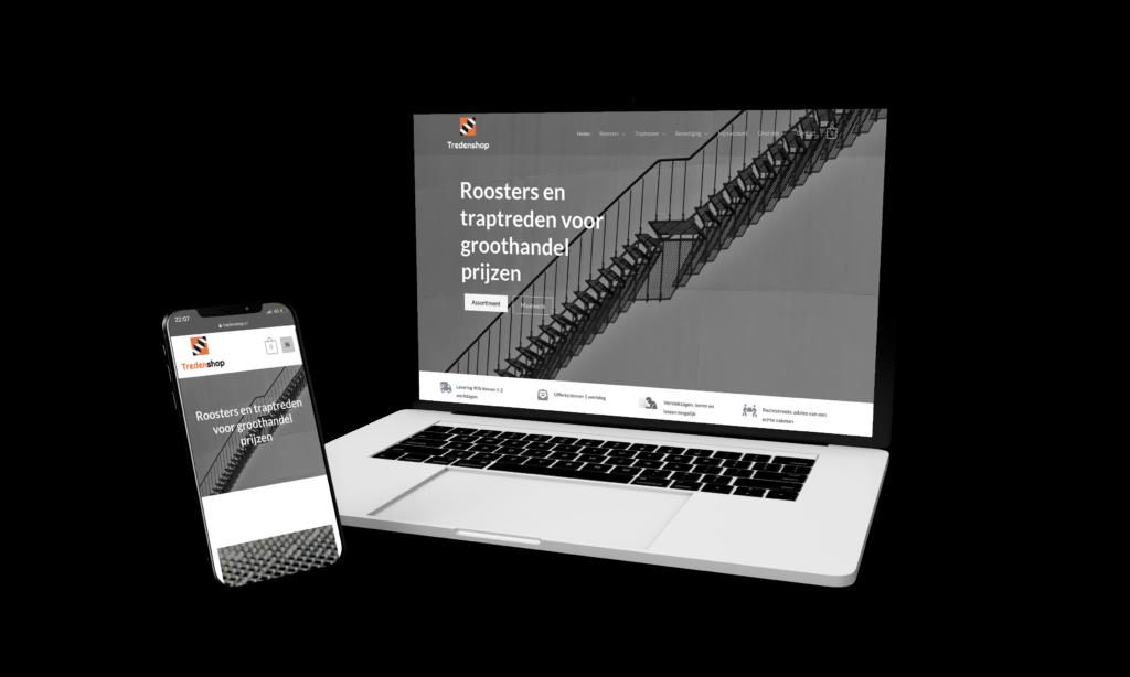 Tredenshop webdesign